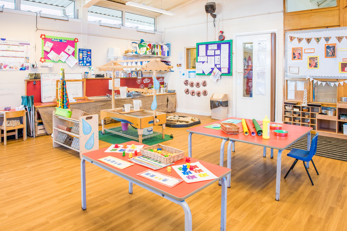Playroom at Dryden Street Nursery
